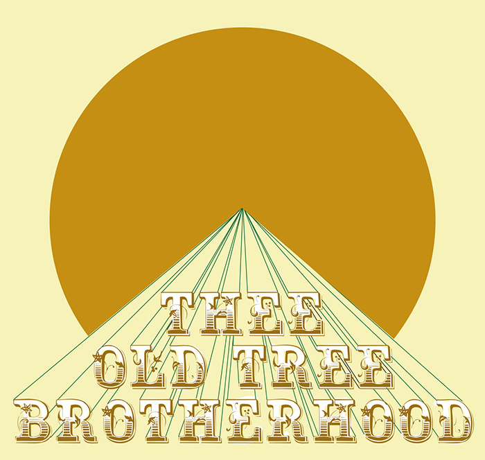 At the studio Thee Old Tree Brotherhood