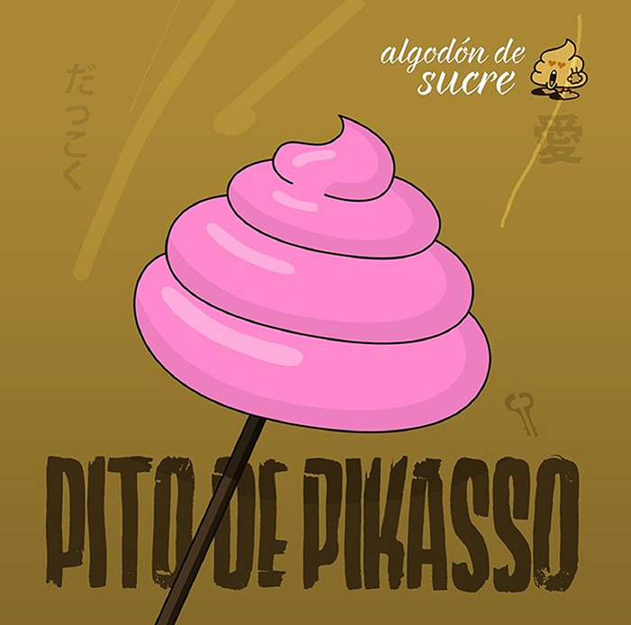 Algodón de sucre Pito de Pikasso