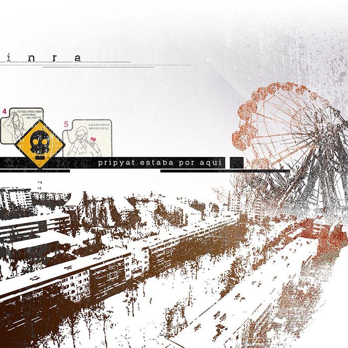 Pripyat estaba por aquí Inra