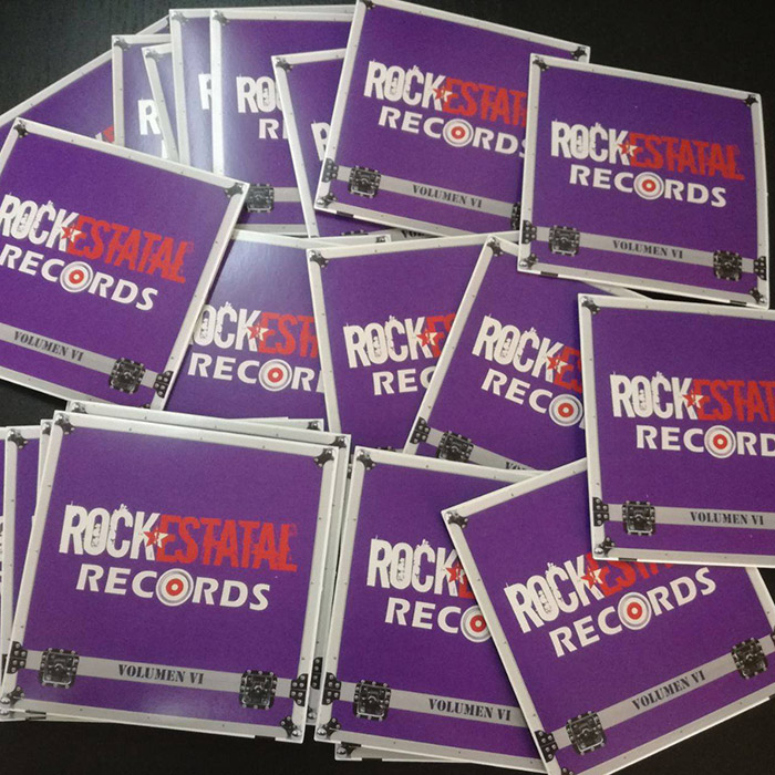 Volumen VI Rock Estatal Records