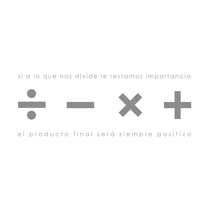 Si a lo que nos divide le restamos importancia el producto final será siempre positivo Subtónica