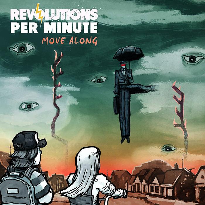 Move along Revolutions per Minute